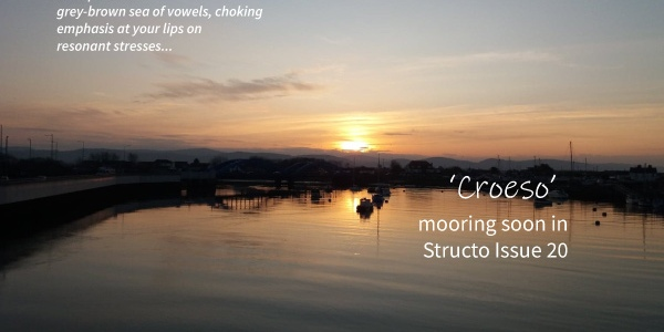 Croeso to be published in Structo magazine