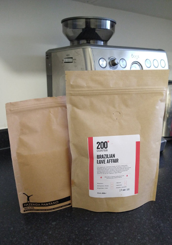 Coffee subscription from 200 Degrees and Cartwheel Coffee