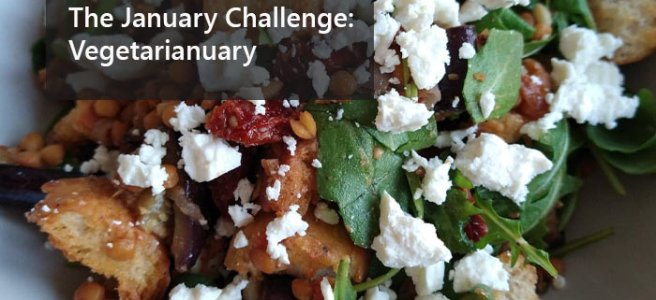 The January Challenge: Vegetarianuary